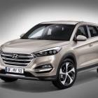 2015 Hyundai Tuscon front quarter