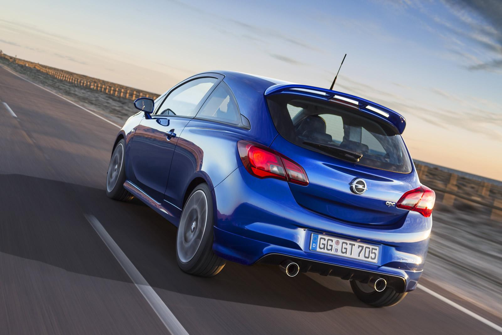 opel cars news corsa opc officially unveiled. Black Bedroom Furniture Sets. Home Design Ideas