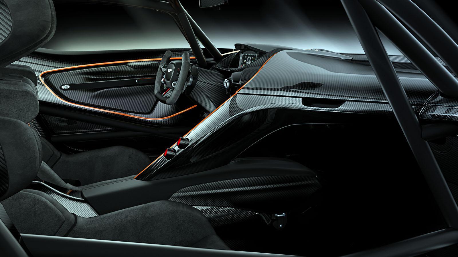 Aston Martin Vulcan Cockpit