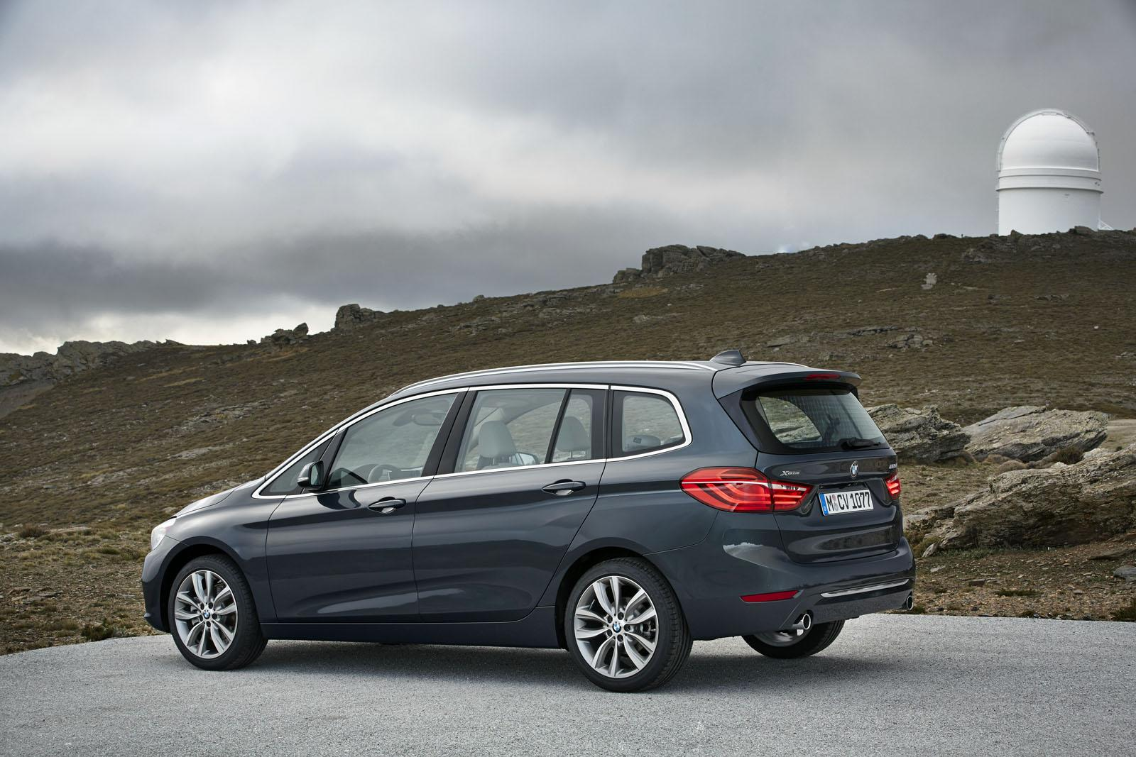 bmw cars news 7 seats bmw 2 series gran tourer unveiled. Black Bedroom Furniture Sets. Home Design Ideas