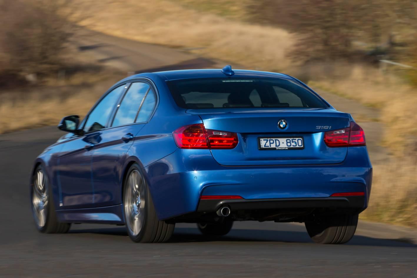 BMW 3 Series Sedan M Sport Rear Quarter