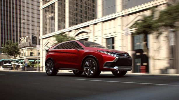 Mitsubishi XR-PHEV Concept II front quarter