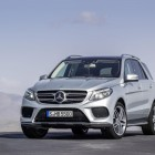 2016 Mercedes GLE front quarter-1