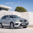 2016 Mercedes GLE front quarter