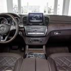 2016 Mercedes GLE interior