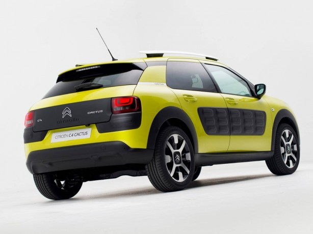 Citroen C4 Cactus rear quarter
