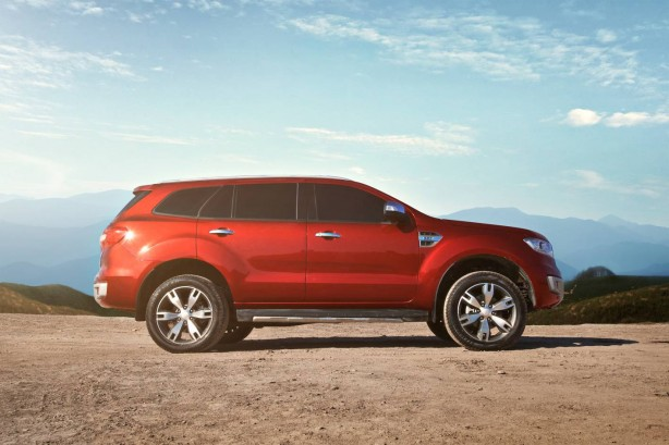 Ford Everest side