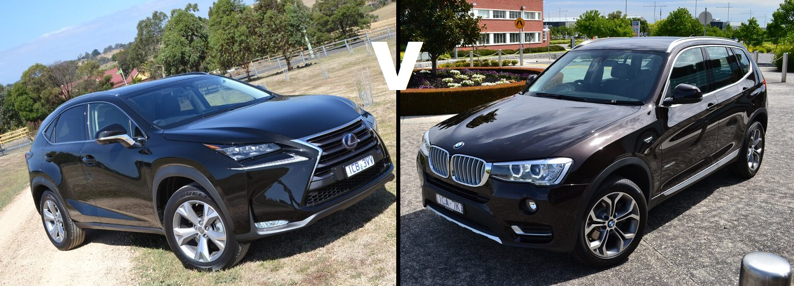 bmw x3 vs lexus nx review head to head. Black Bedroom Furniture Sets. Home Design Ideas