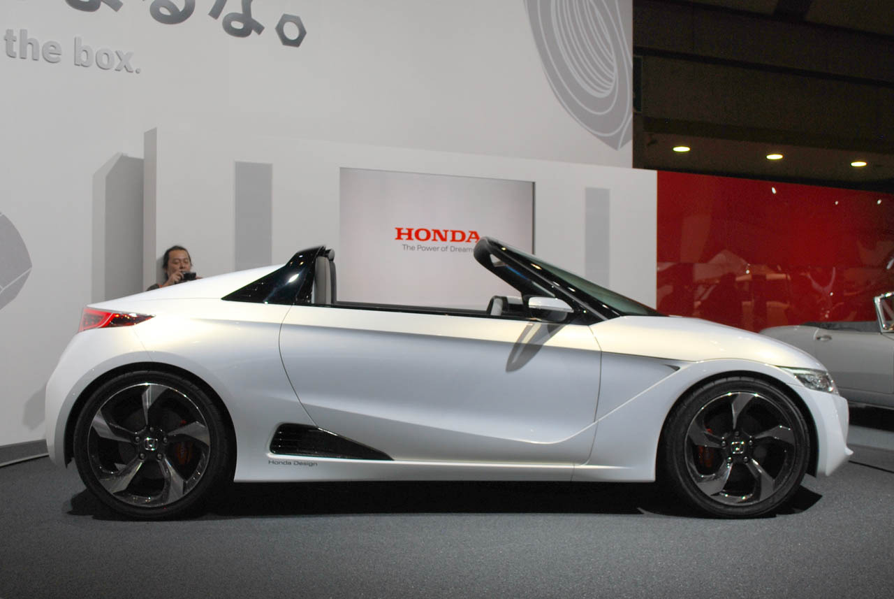 Honda S Concept Side on Ford 5 4 Cylinder Layout