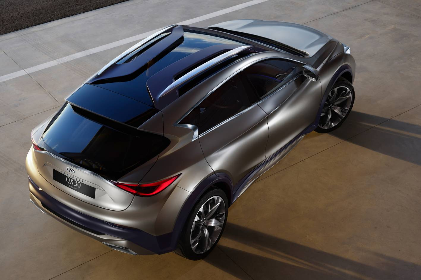 Infiniti Qx30 Concept Officially Unveiled Forcegt Com
