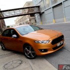 2015 Ford Falcon XR8 front quarter