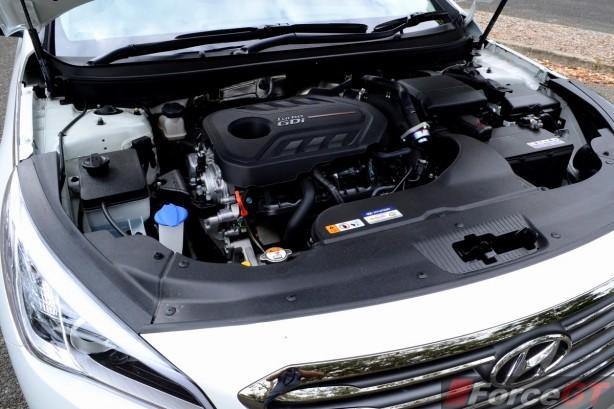 2015 Hyundai Sonata Elite engine