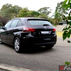 2015 Peugeot 308 Allure rear quarter
