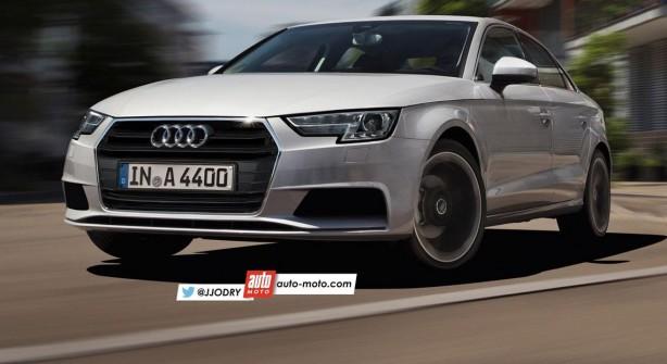 2016 Audi A4 render front