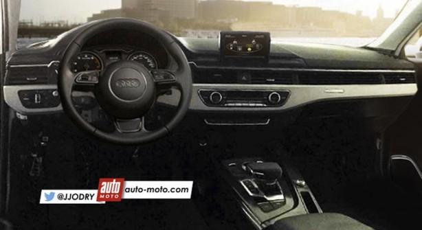 2016 Audi A4 render interior