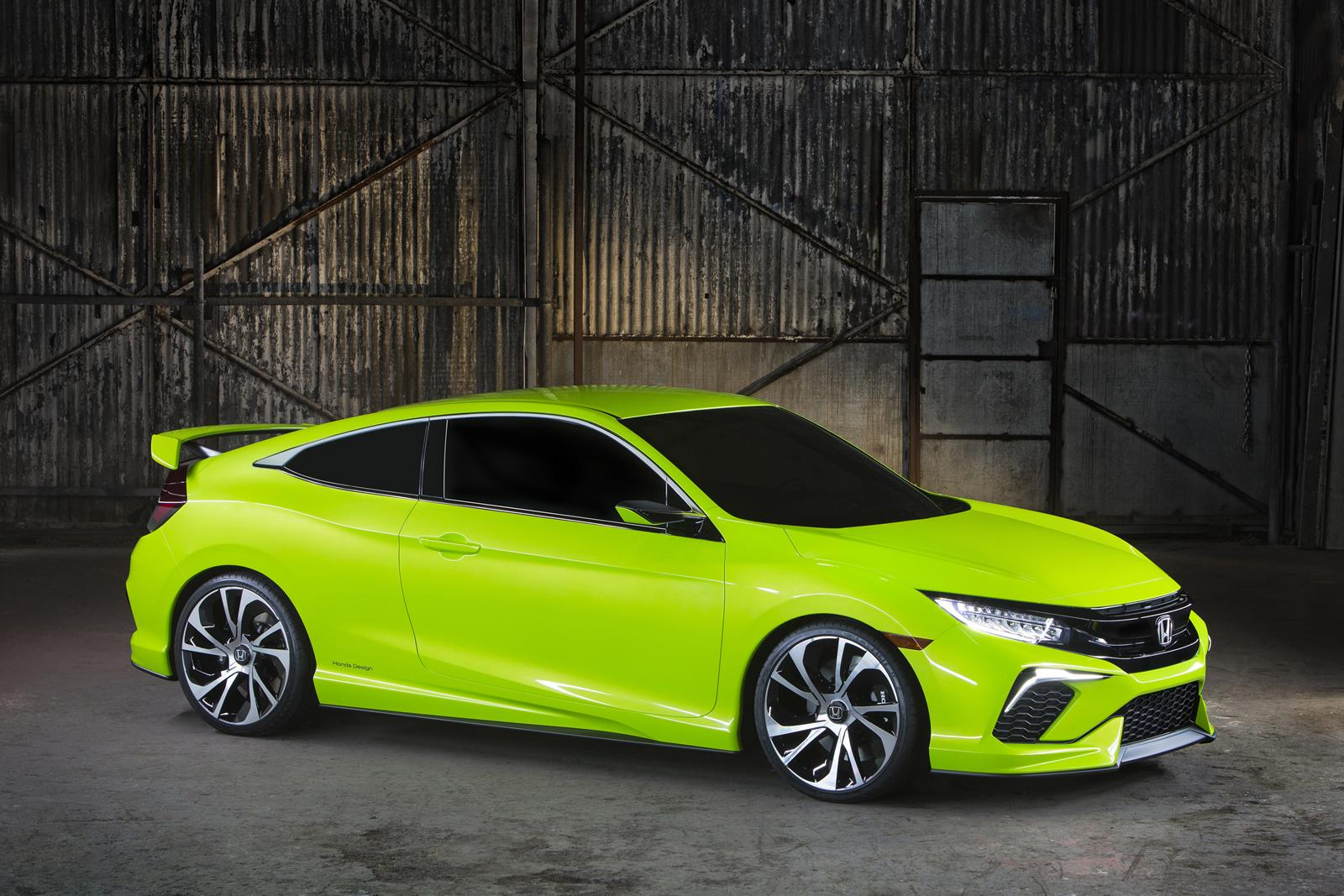 Honda Civic Concept makes surprise appearance in New York - ForceGT ...