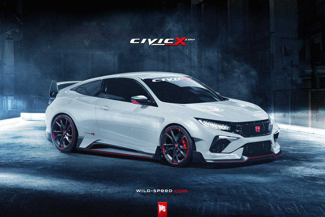is this the new honda civic type r coupe. Black Bedroom Furniture Sets. Home Design Ideas