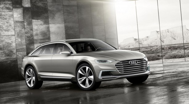 Audi Prologue Allroad concept front quarter
