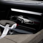 Audi Prologue Allroad concept infotainment screen