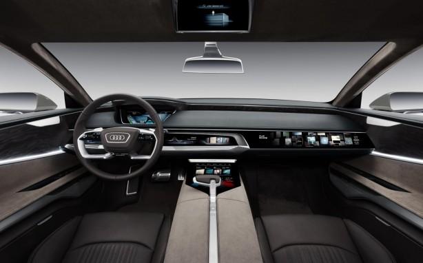 Audi Prologue Allroad concept interior