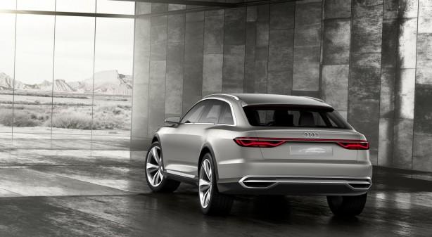 Audi Prologue Allroad concept rear