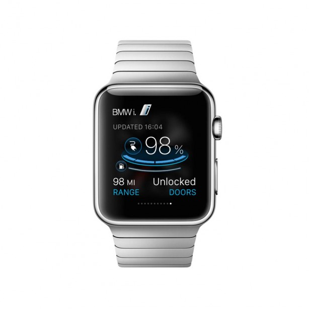 BMW i Remote App for Apple Watch-1