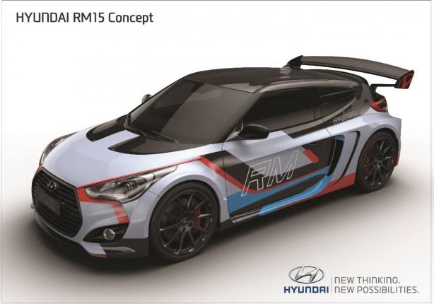Hyundai RM15 concept front quarter