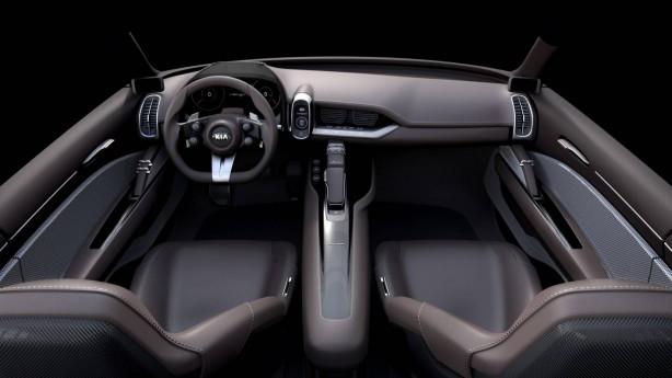 Kia Novo concept interior