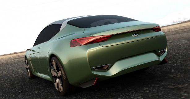 Kia Novo concept rear quarter