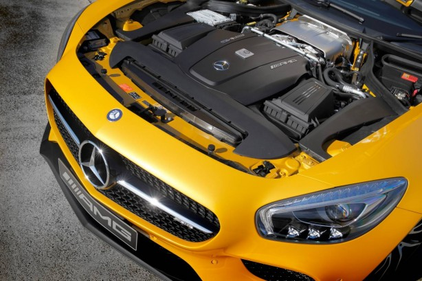 Mercedes-AMG GT S engine