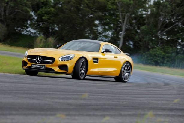 Mercedes-AMG GT S front quarter