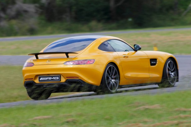 Mercedes-AMG GT S rear quarter