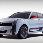 Qoros 2 SUV PHEV Concept front quarter