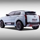 Qoros 2 SUV PHEV Concept rear quarter