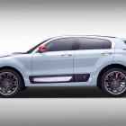 Qoros 2 SUV PHEV Concept side
