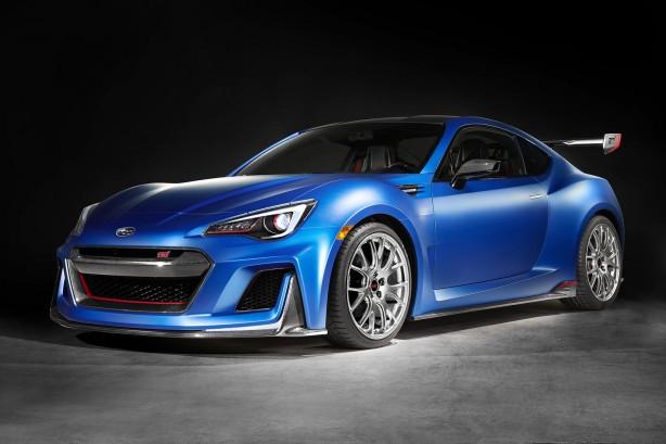 Subaru STI Performance concept front quarter