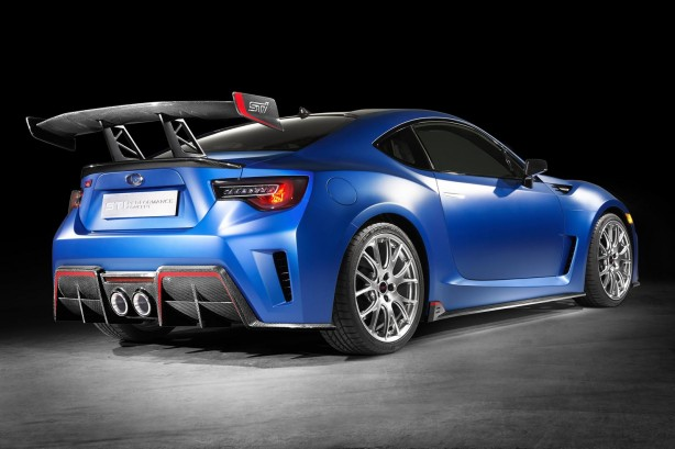 Subaru STI Performance concept rear quarter