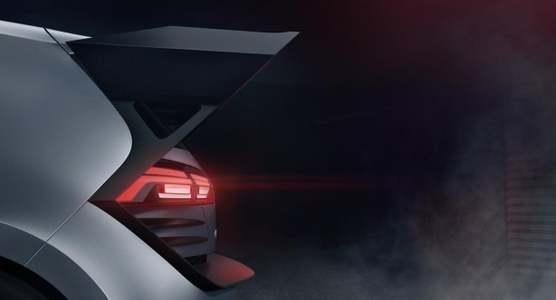 Volkswagen Supersport Vision Gran Turismo rear spoiler