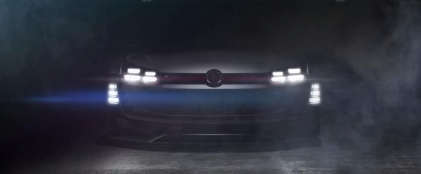 Volkswagen Supersport Vision Gran Turismo teaser front
