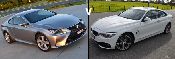 bmw 4 series vs lexus rc 350