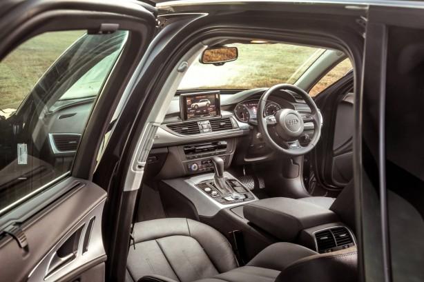 2015 Audi A6 Allroad interior