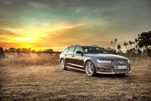 2015 Audi A6 Allroad quattro front quarter