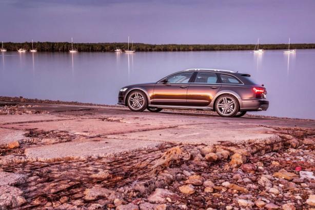 2015 Audi A6 Allroad quattro side
