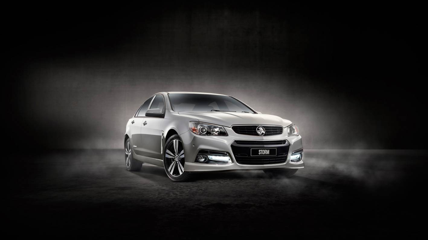 Holden Cars News Holden Reintroduces Vf Commodore Storm