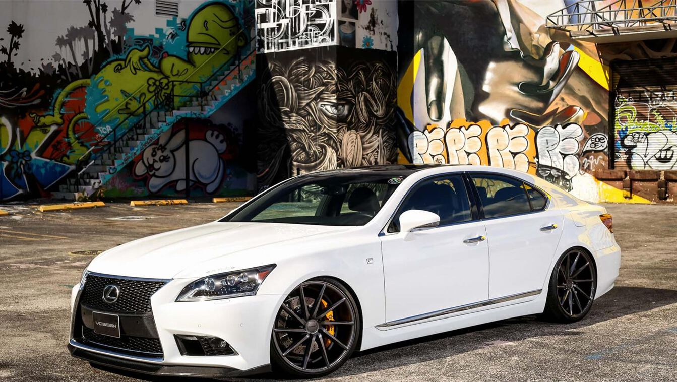 Tweaked: Lexus LS F Sport with Vossen CVT Wheels - ForceGT.com