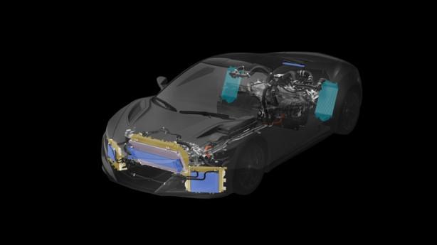 2016-NSX-Total-Airflow-Management-Powertrain-Heat_Exchangers