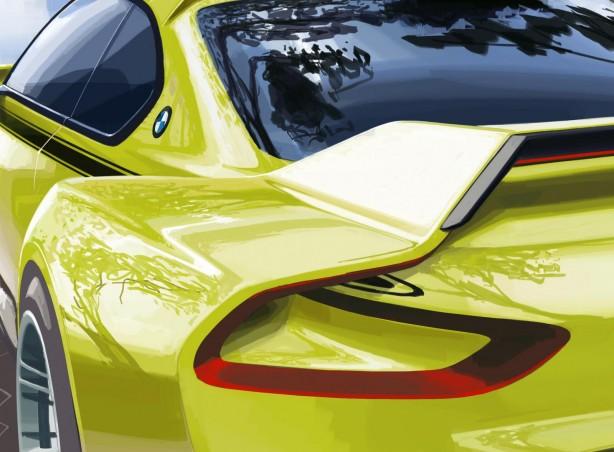 BMW 3.0 CSL Hommage teaser