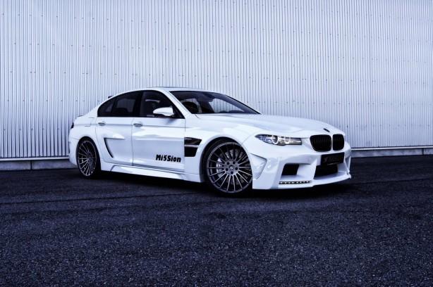 Hamann-tuned BMW M5 Mi5Sion front quarter