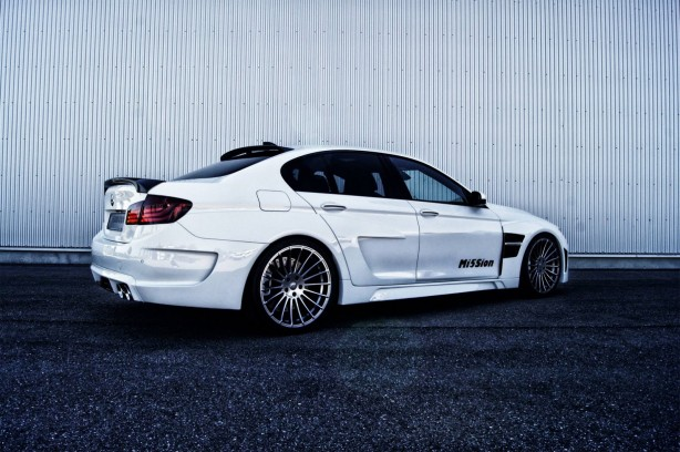 Hamann-tuned BMW M5 Mi5Sion rear quarter