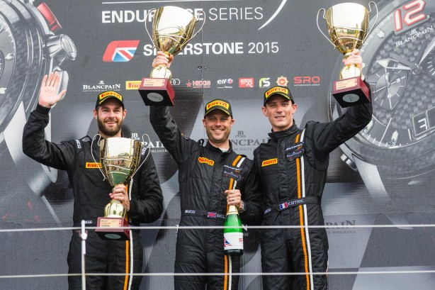 McLaren 650S GT3 victory at Silverstone